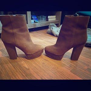 Aldo bootie heels